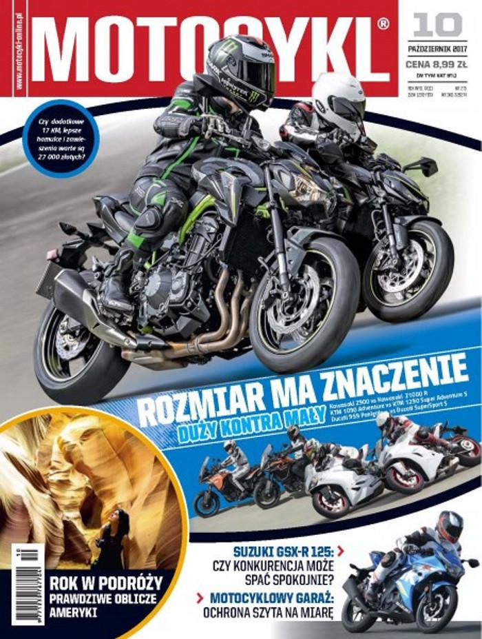Motocykl -                     10/2017