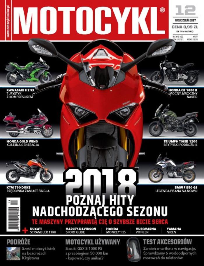 Motocykl -                     12/2017