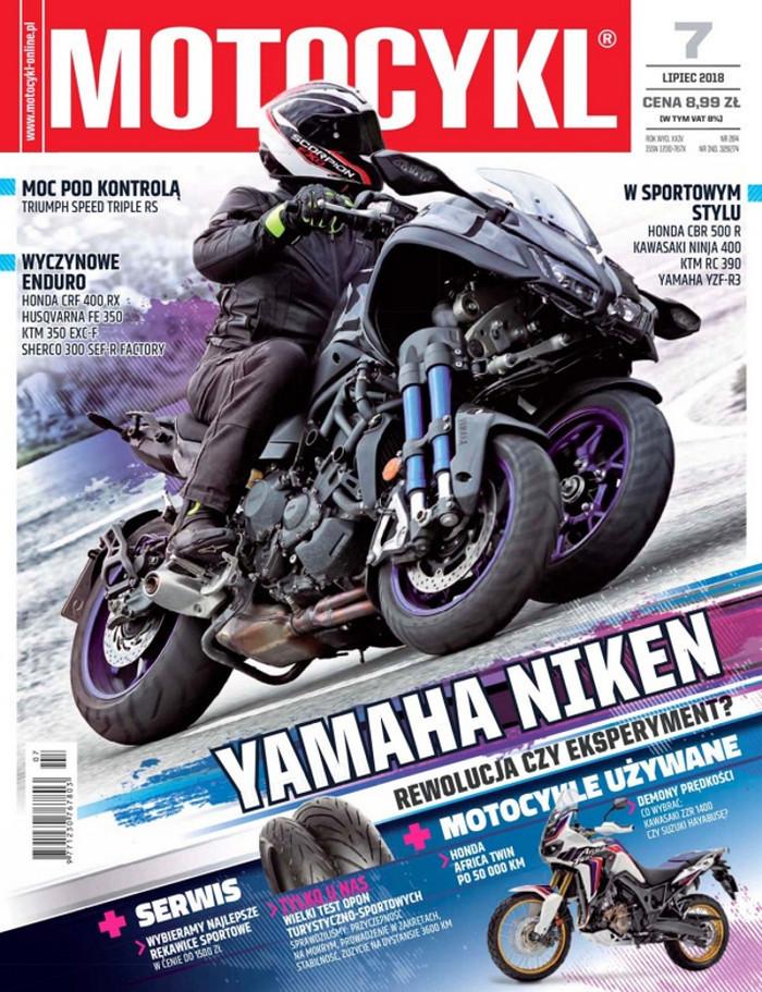 Motocykl -                     7/2018