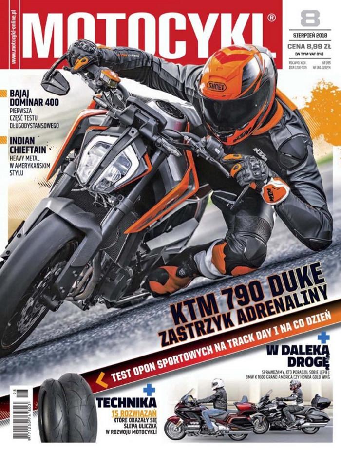 Motocykl -                     8/2018