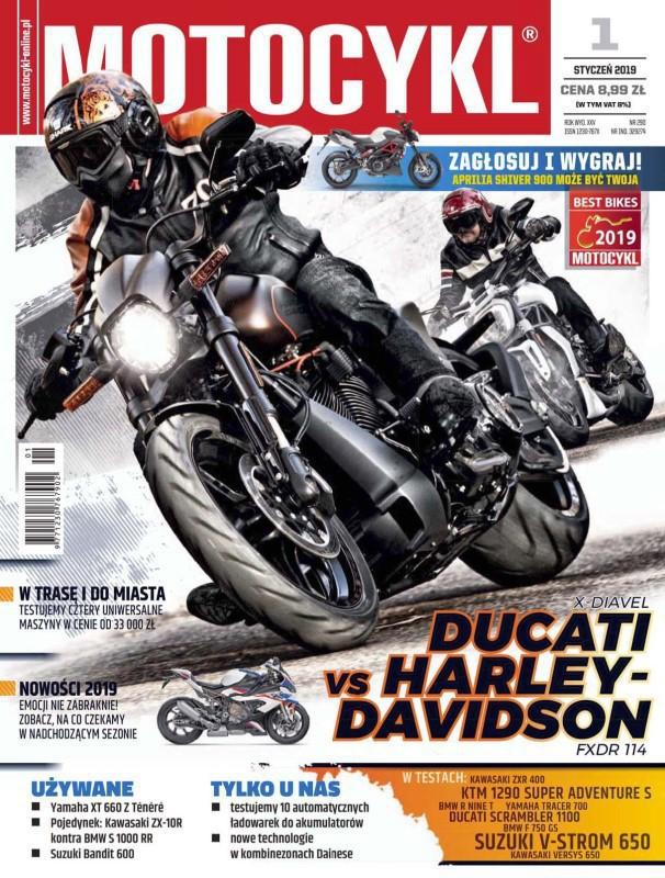Motocykl -                     1/2019
