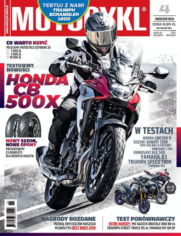 Motocykl -                     4/2019