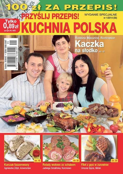 Przyślij Przepis 12014 Wydanie Specjalne Kuchnia Polska