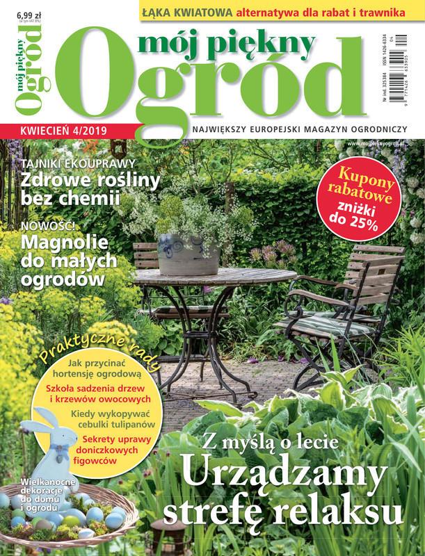 Mój Piękny Ogród -                     4/2019
