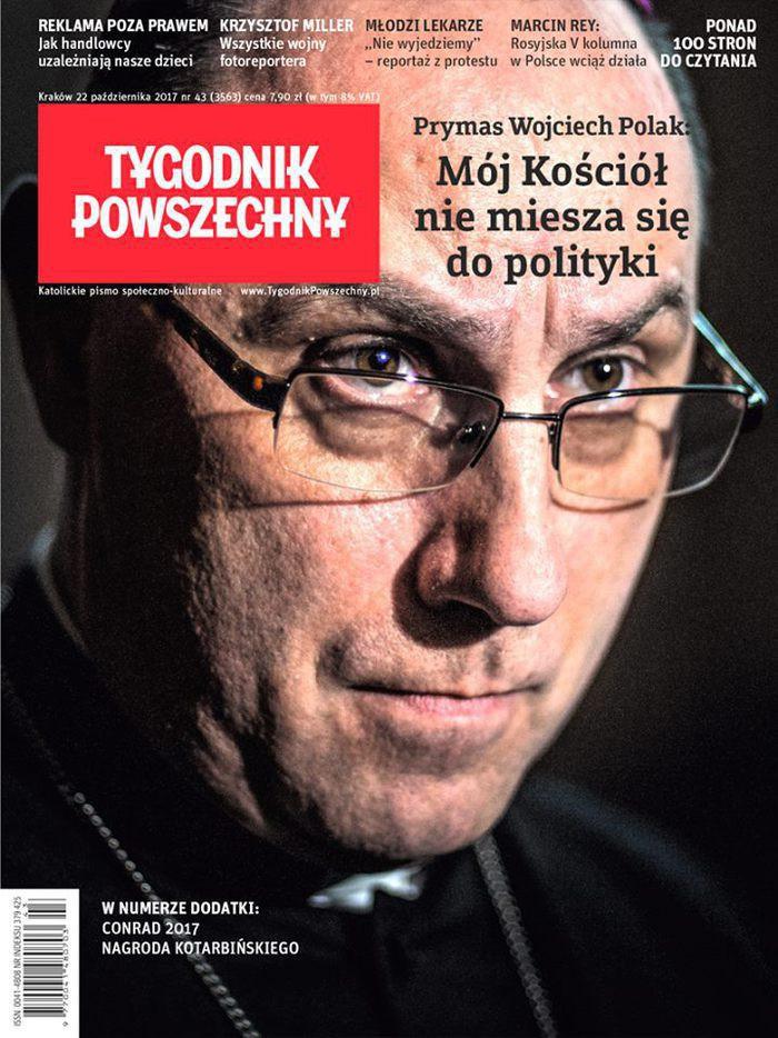Tygodnik Powszechny -                     43/2017