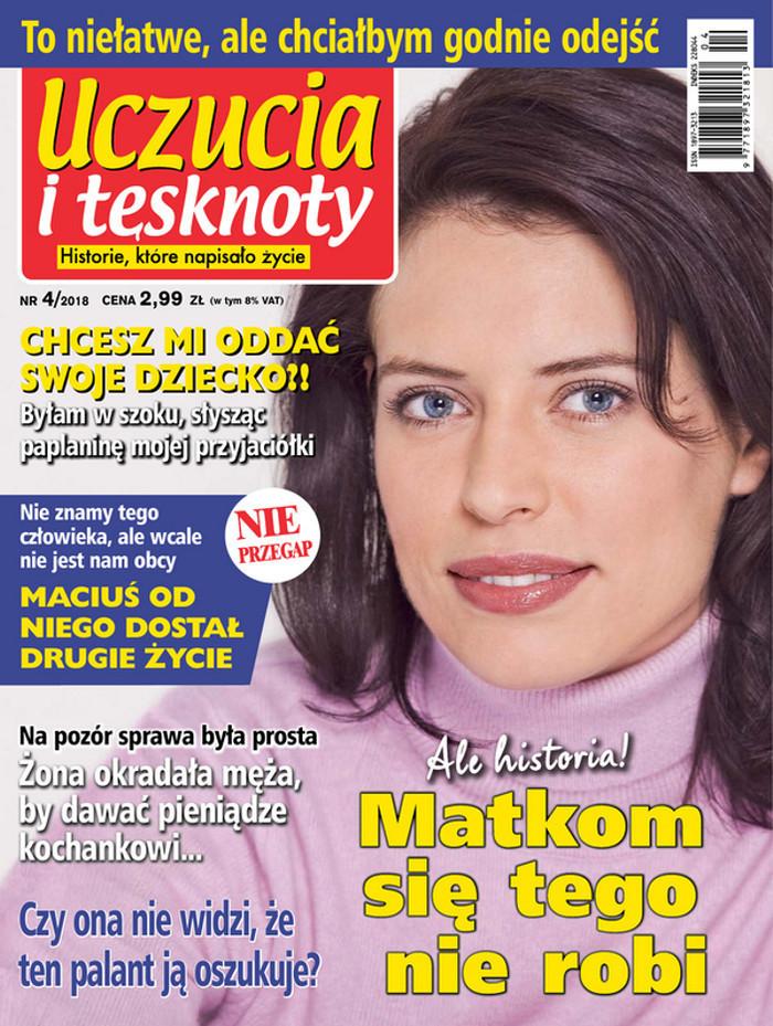 Uczucia i tęsknoty -                     4/2018