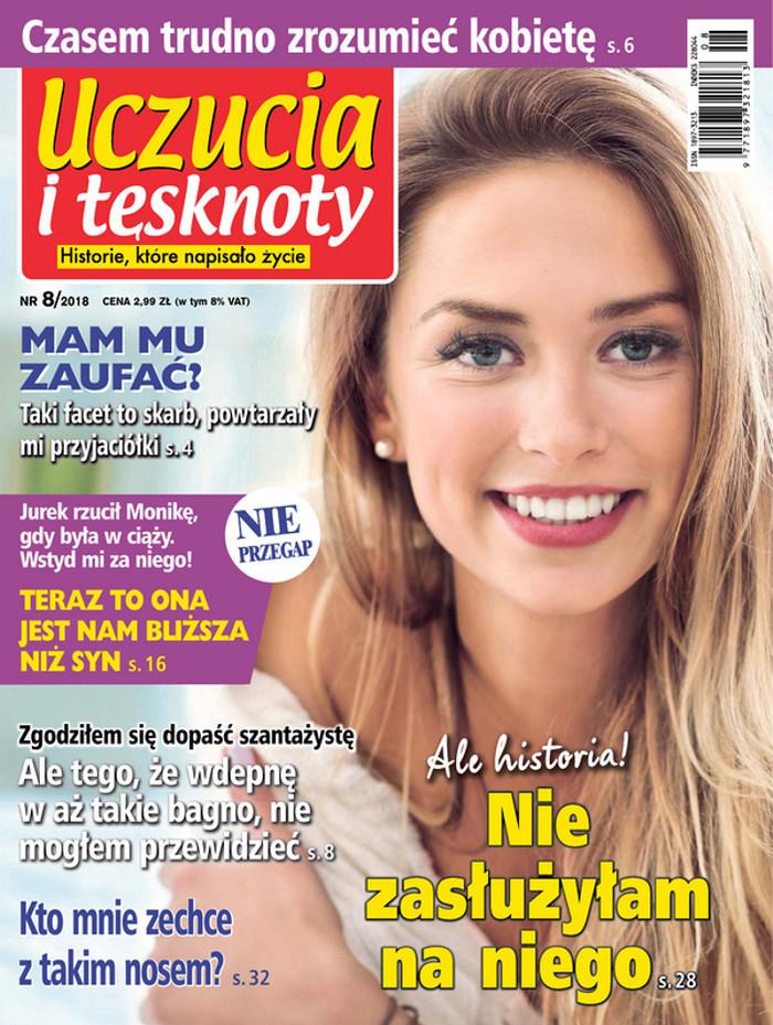 Uczucia i tęsknoty -                     8/2018