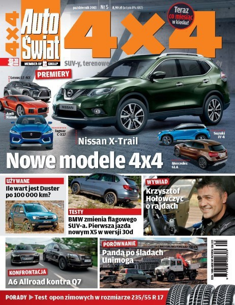 Auto Świat 4x4 -                     5/2013