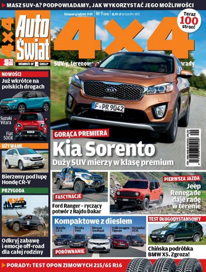 Auto Świat 4x4 -                     9/2014