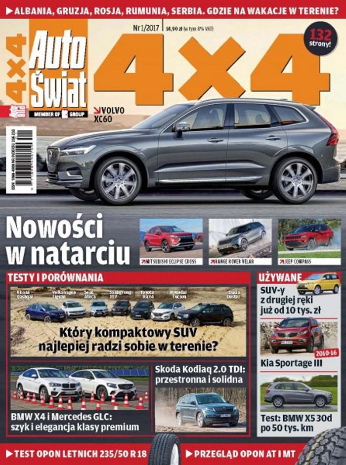 Auto Świat 4x4 -                     1/2017