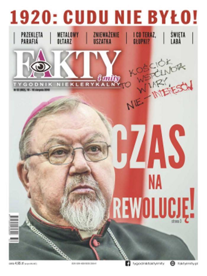 Fakty i Mity - Tygodnik nieklerykalny -                     32/2018