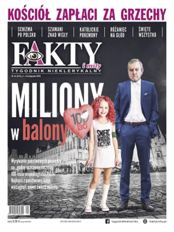 Fakty i Mity - Tygodnik nieklerykalny -                     44/2018