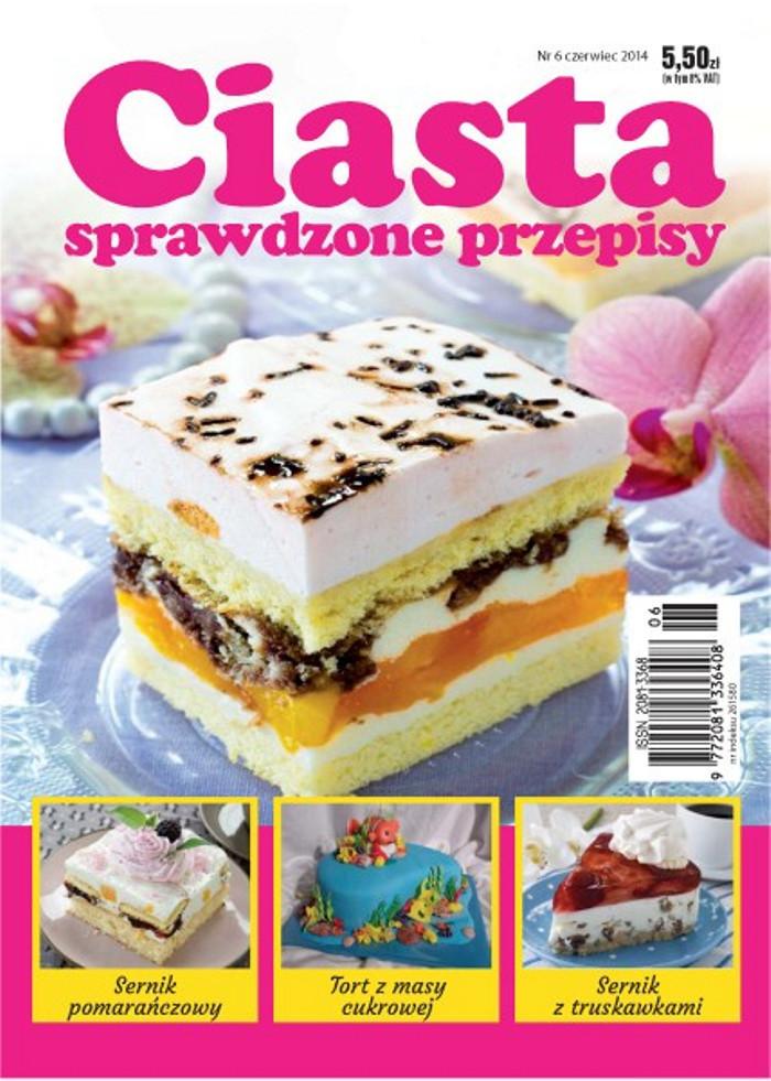 Ciasta sprawdzone przepisy -                     6/2014