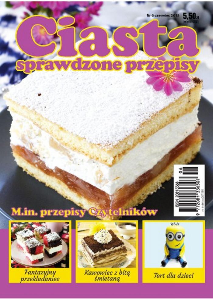 Ciasta sprawdzone przepisy -                     6/2015