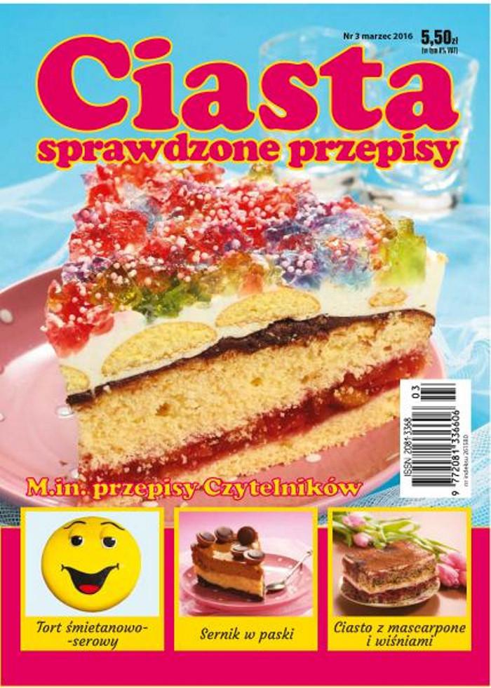 Ciasta sprawdzone przepisy -                     3/2016