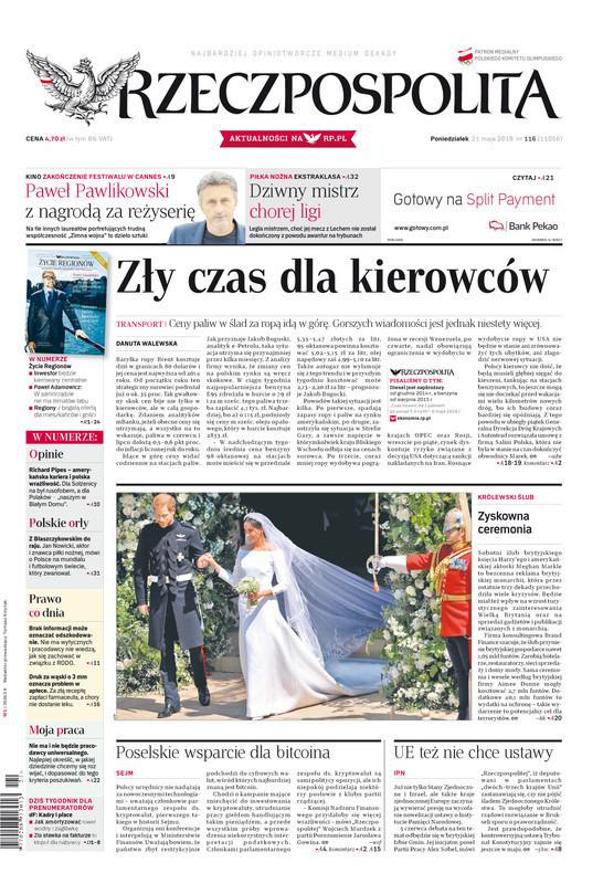 Rzeczpospolita -                     2018-05-21