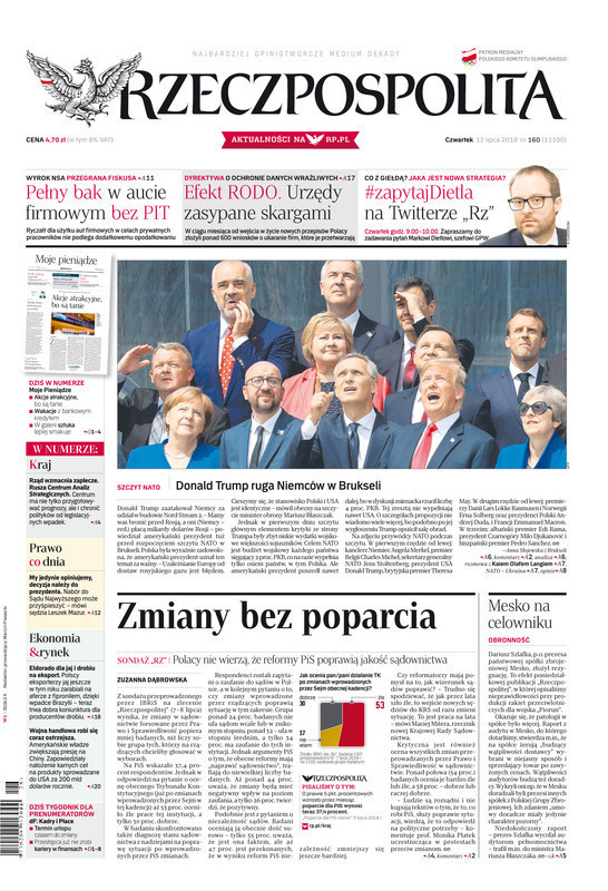 Rzeczpospolita -                     2018-07-12