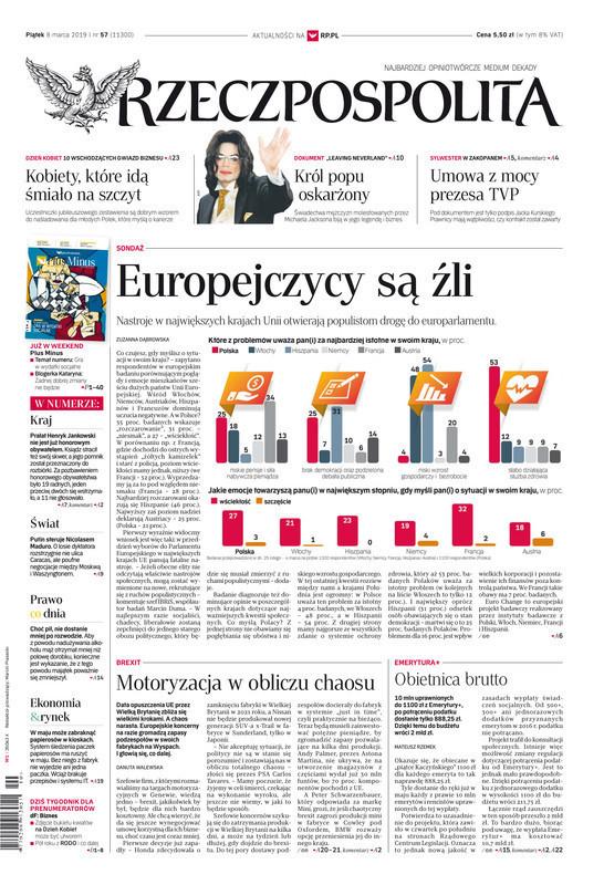 Rzeczpospolita -                     2019-03-08
