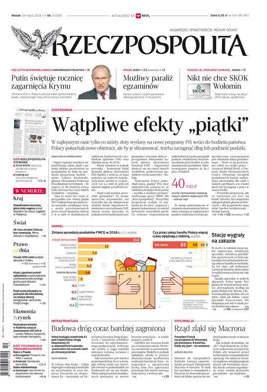 Rzeczpospolita -                     2019-03-19