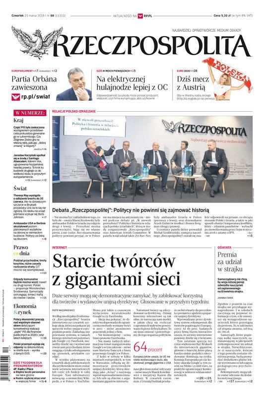 Rzeczpospolita -                     2019-03-21