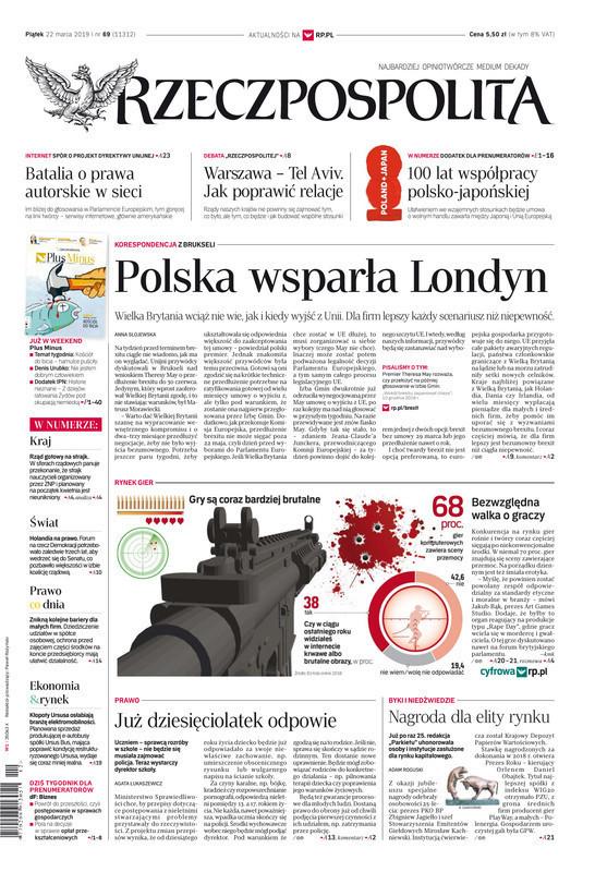 Rzeczpospolita -                     2019-03-22