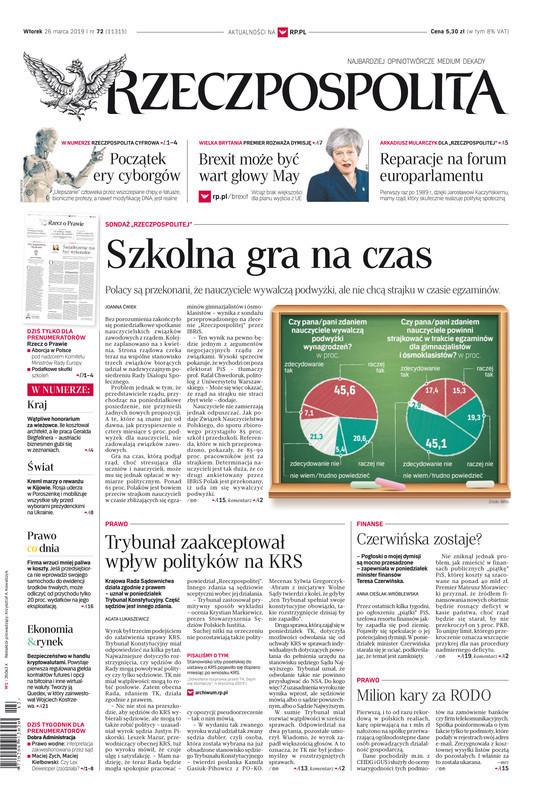 Rzeczpospolita -                     2019-03-26