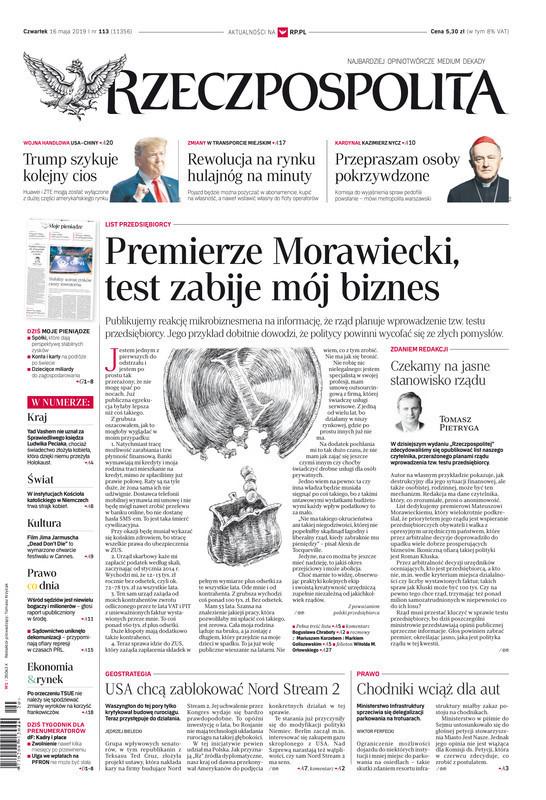Rzeczpospolita -                     2019-05-16