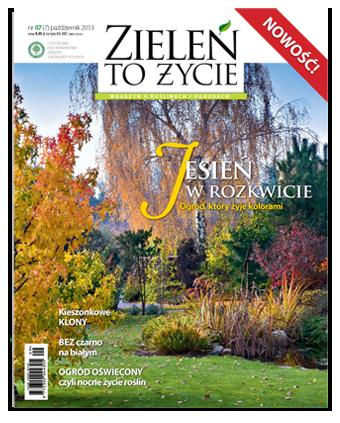 Zieleń to Życie -                     7/2013 - pazdziernik