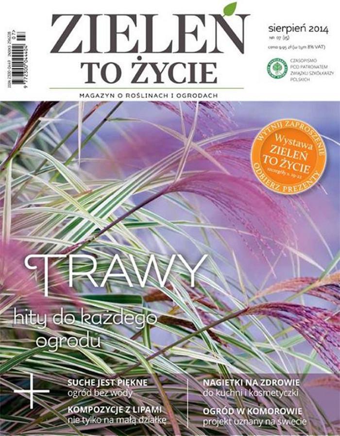 Zieleń to Życie -                     8/2014