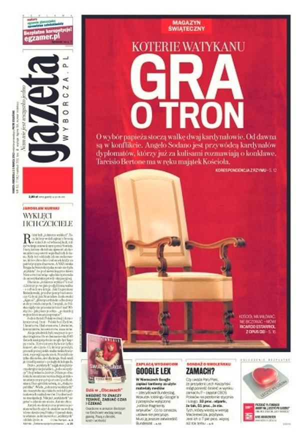 Gazeta Wyborcza -                     2013-03-02
