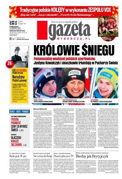 Gazeta Wyborcza -                     2013-12-23