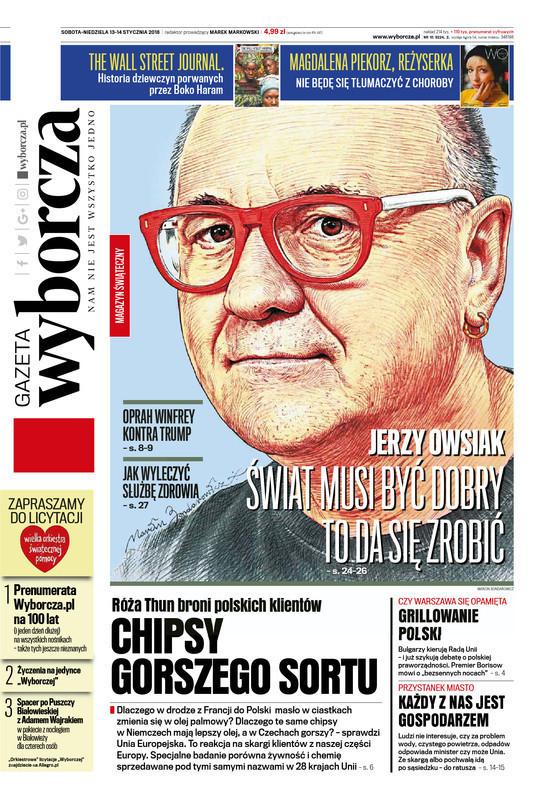 Gazeta Wyborcza -                     2018-01-13