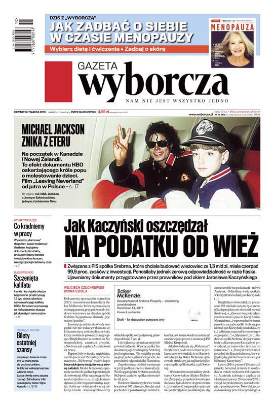 Gazeta Wyborcza -                     2019-03-07