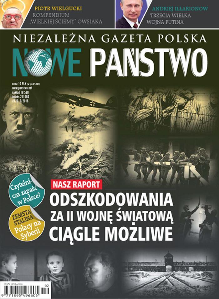 Niezależna Gazeta Polska Nowe Państwo -                     2/2016