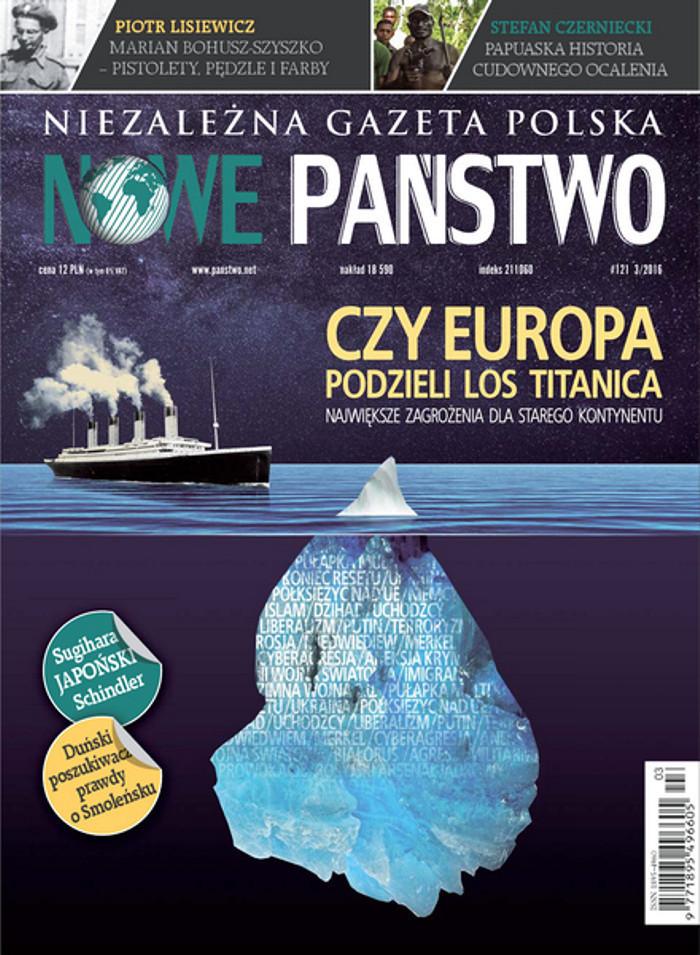 Niezależna Gazeta Polska Nowe Państwo -                     3/2016