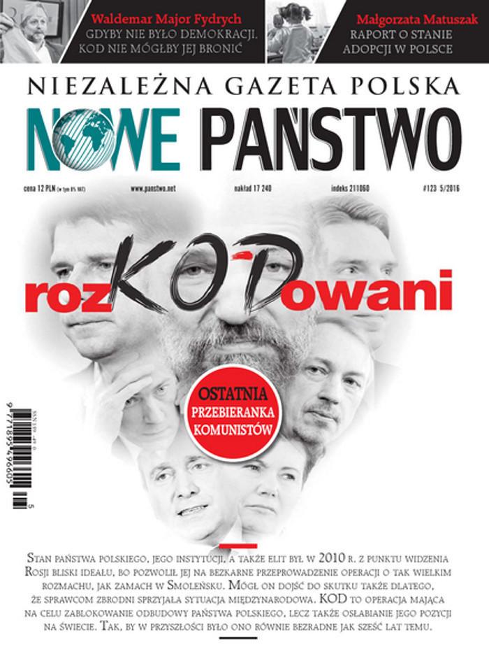 Niezależna Gazeta Polska Nowe Państwo -                     5/2016
