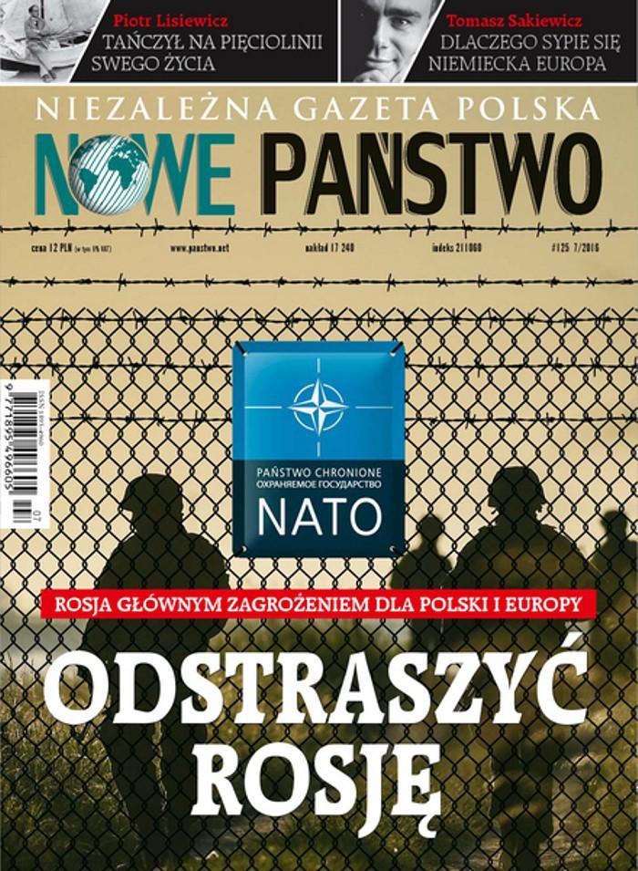 Niezależna Gazeta Polska Nowe Państwo -                     7/2016