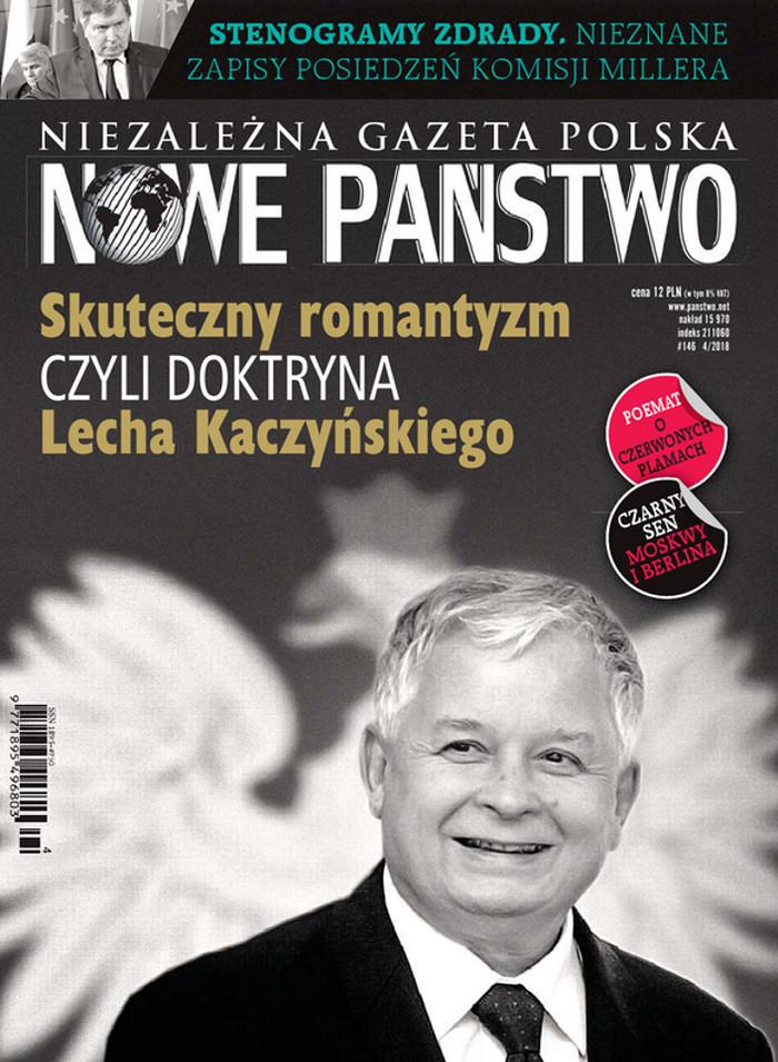 Niezależna Gazeta Polska Nowe Państwo -                     4/2018