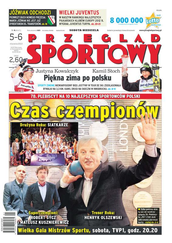 Przegląd Sportowy -                     4/2013