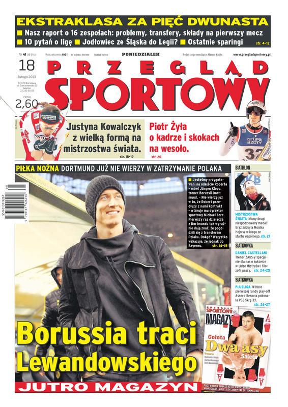 Przegląd Sportowy -                     2013-02-18