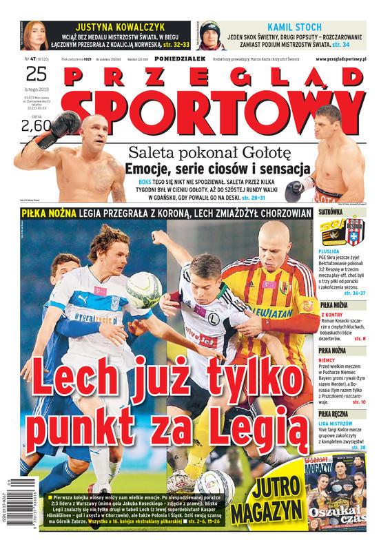 Przegląd Sportowy -                     2013-02-25
