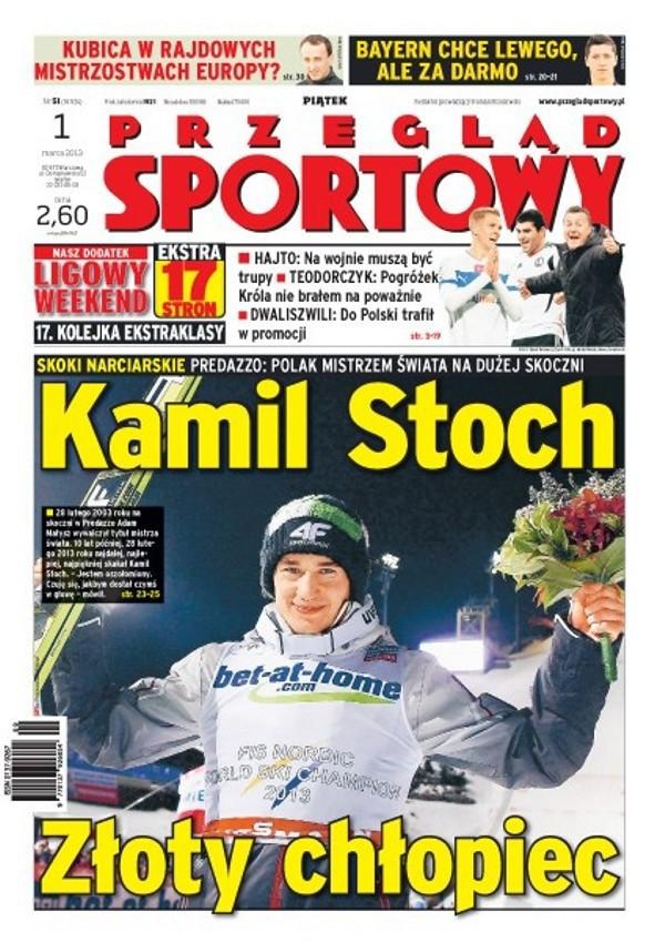 Przegląd Sportowy -                     2013-03-01
