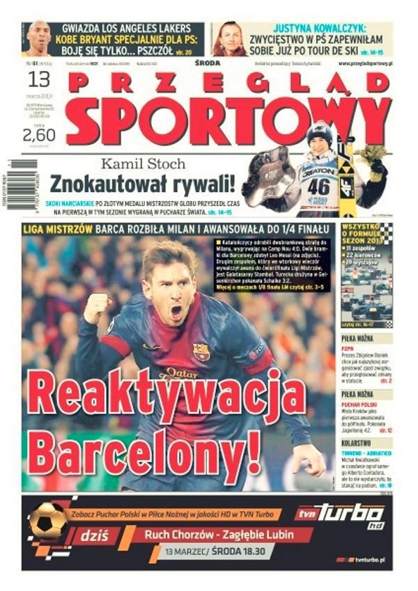 Przegląd Sportowy -                     2013-03-13