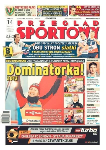 Przegląd Sportowy -                     2013-03-14