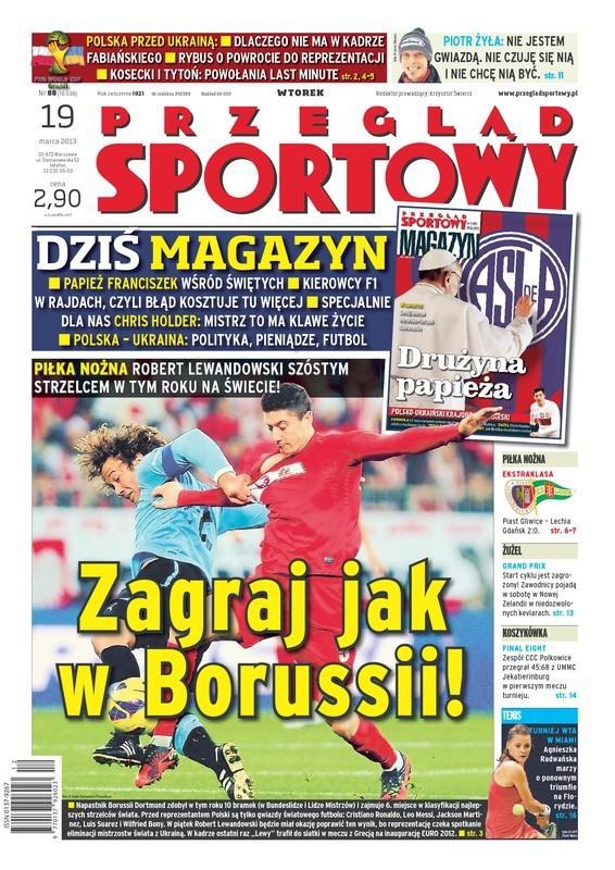 Przegląd Sportowy -                     2013-03-19