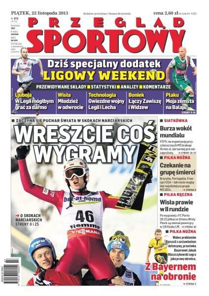 Przegląd Sportowy -                     2013-11-22