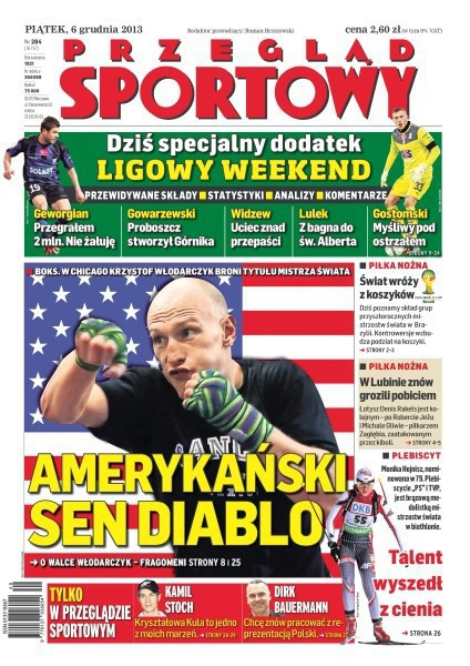 Przegląd Sportowy -                     2013-12-06