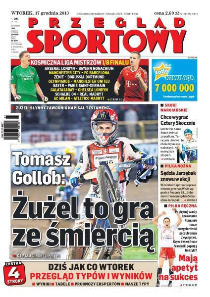 Przegląd Sportowy -                     2013-12-17