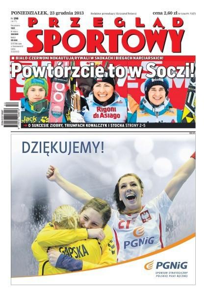Przegląd Sportowy -                     2013-12-23