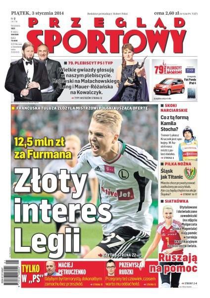 Przegląd Sportowy -                     2014-01-03